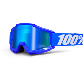 100% Accuri Anti Fog Mirror Goggles reflex blue